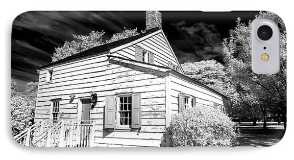 Infrared House At Olde Towne IPhone Case by John Rizzuto