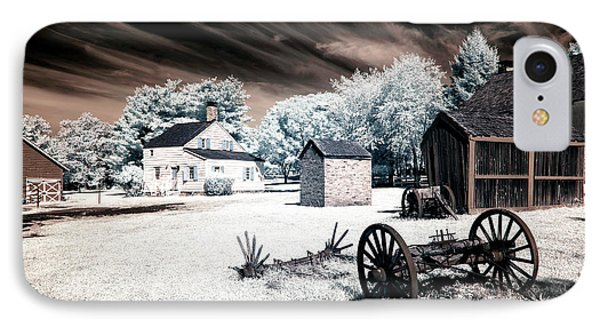 Infrared Olde Towne IPhone Case by John Rizzuto