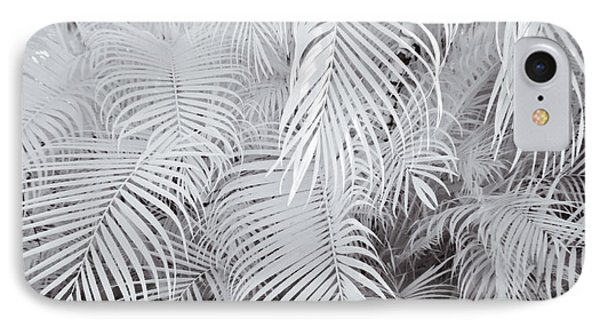 Infrared Palm Abstract Phone Case by Adam Romanowicz