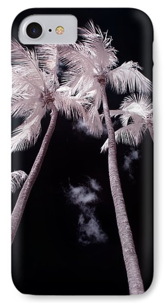 Infrared Palm Trees Phone Case by Adam Romanowicz