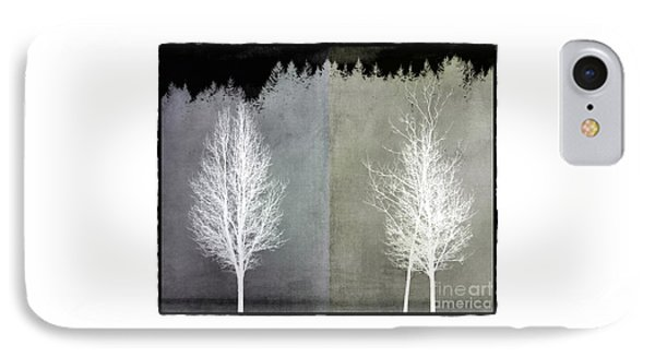 Infrared Trees With Texture IPhone Case by Patricia Strand