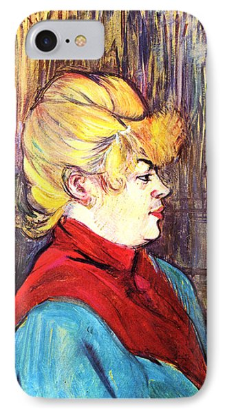 Inhabitant Of A Brothel IPhone Case by Toulouse Lautrec