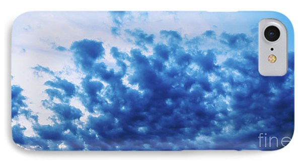 IPhone Case featuring the photograph Ink Blot Sky by Colleen Kammerer