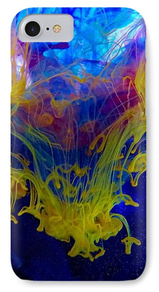 Ink Explosion 9 IPhone Case by Lilia D