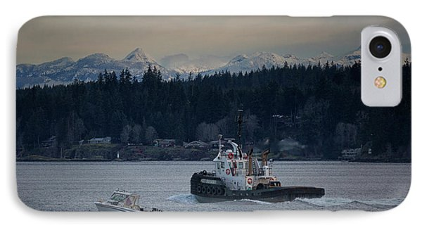 IPhone Case featuring the photograph Inlet Crusader by Randy Hall