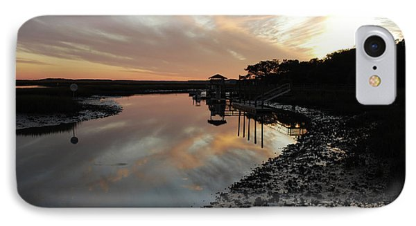 Inlet Sunset IPhone Case