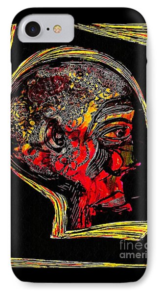 Inner Man IPhone Case by Sarah Loft