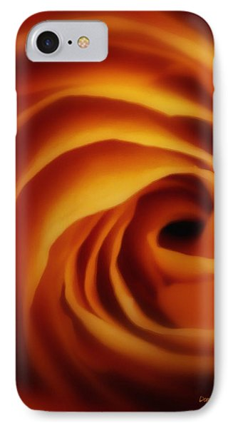 Inner Most Desire Phone Case by Donna Blackhall