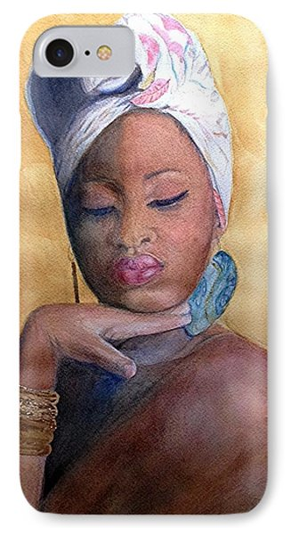 Inner Oshun IPhone Case by Anoa Kanu