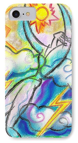 Inner Strength  IPhone Case by Leon Zernitsky