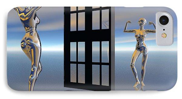 Inner Strength IPhone Case by Sandra Bauser Digital Art