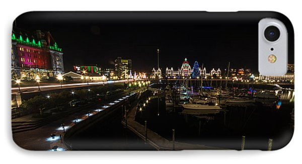 Inner Harbour Of Victoria Bc IPhone Case by Marilyn Wilson