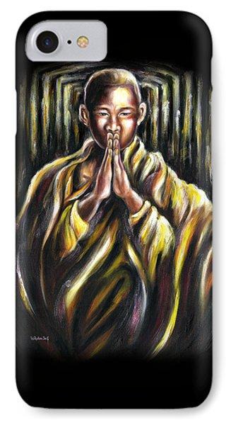 Inori Prayer IPhone Case by Hiroko Sakai