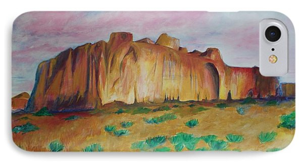 IPhone Case featuring the painting Inscription Rock  by Eric  Schiabor