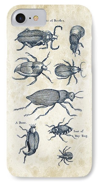 Insects - 1792 - 02 IPhone Case by Aged Pixel