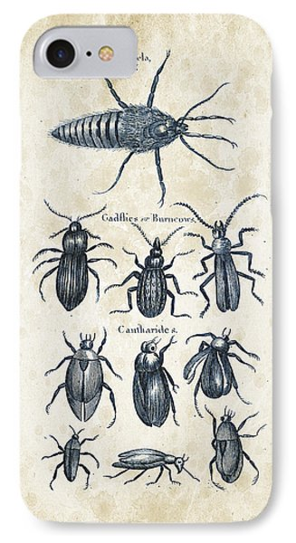 Insects - 1792 - 04 IPhone Case by Aged Pixel