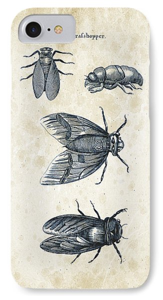 Insects - 1792 - 07 IPhone Case by Aged Pixel
