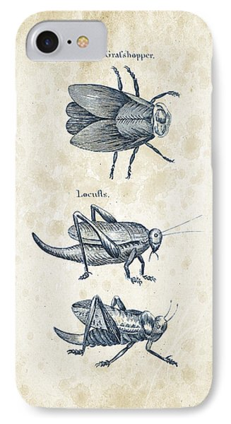Insects - 1792 - 08 IPhone Case by Aged Pixel