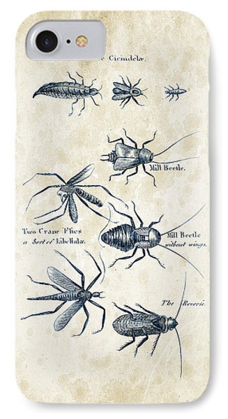 Insects - 1792 - 10 IPhone Case by Aged Pixel