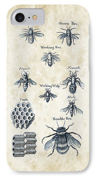 Insects - 1792 - 14 IPhone Case by Aged Pixel