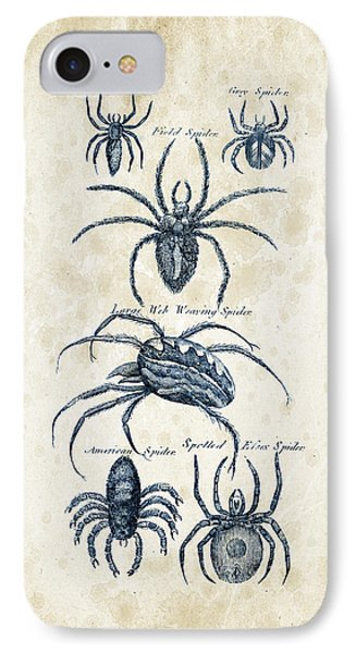 Insects - 1792 - 18 IPhone 7 Case by Aged Pixel