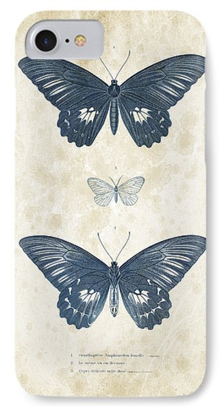Insects - 1832 - 01 IPhone Case by Aged Pixel