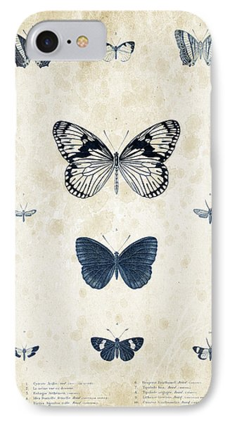 Insects - 1832 - 03 IPhone Case by Aged Pixel