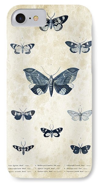 Insects - 1832 - 05 IPhone Case by Aged Pixel