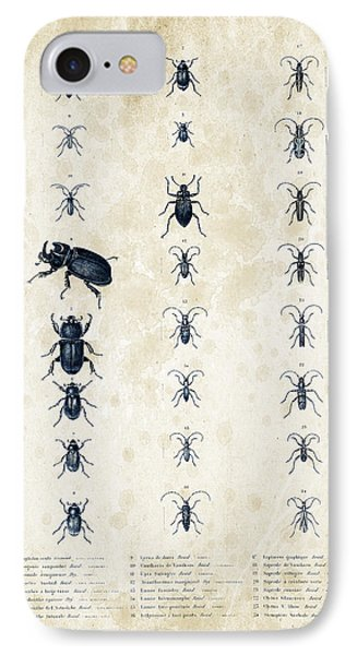 Insects - 1832 - 09 IPhone Case by Aged Pixel