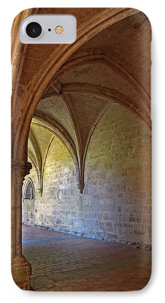 Inside A Monastery Dordogne France  IPhone Case by Dave Mills