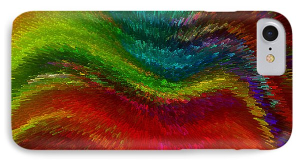 Inside A Rainbow IPhone Case by Stuart Turnbull