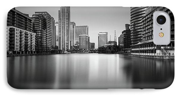 Inside Canary Wharf IPhone 7 Case by Ivo Kerssemakers