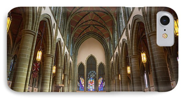 Inside Christchurch Cathedral IPhone Case by Keith Boone