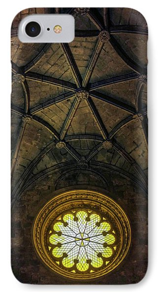 IPhone Case featuring the photograph Inside Jeronimos by Carlos Caetano