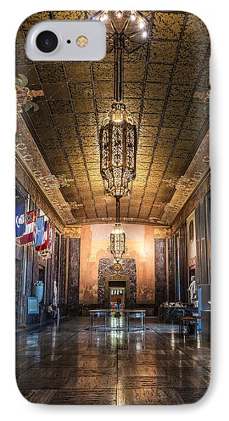 Inside The Louisiana State Capitol IPhone Case