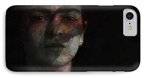 Inspiration Frida Kahlo  IPhone Case by Paul Lovering