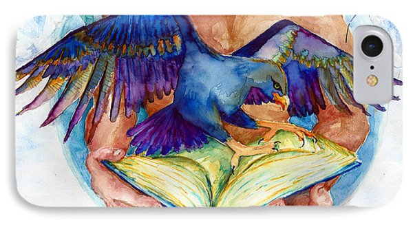 Inspiration Spreads Its Wings IPhone Case by Melinda Dare Benfield