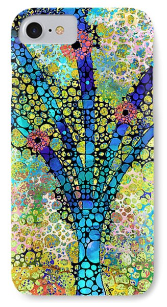 Inspirational Art - Absolute Joy - Sharon Cummings IPhone Case by Sharon Cummings