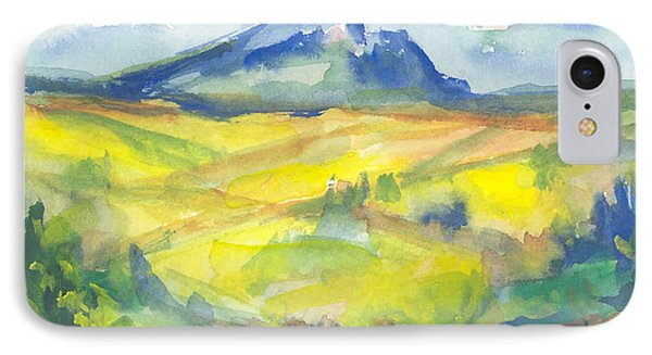 Inspired By Cezanne IPhone Case by Connie Schaertl
