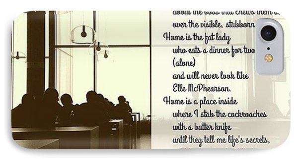 #instapoet #poetrycommunity #poetry Phone Case by Danielle McGaw