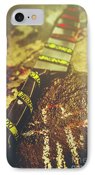 Instrument Of Crime IPhone Case by Jorgo Photography - Wall Art Gallery