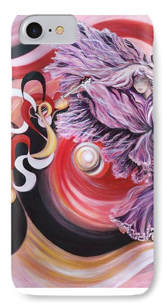 IPhone Case featuring the painting Integrated Force by Sigrid Tune