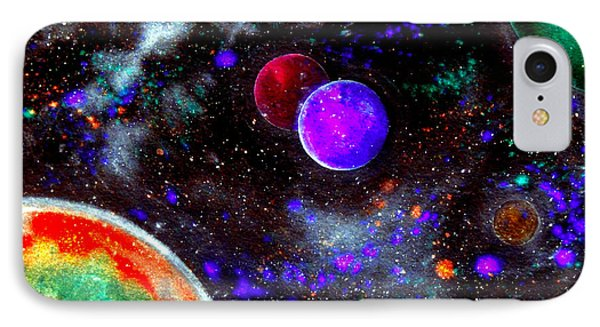 Intense Galaxy IPhone Case by Bill Holkham