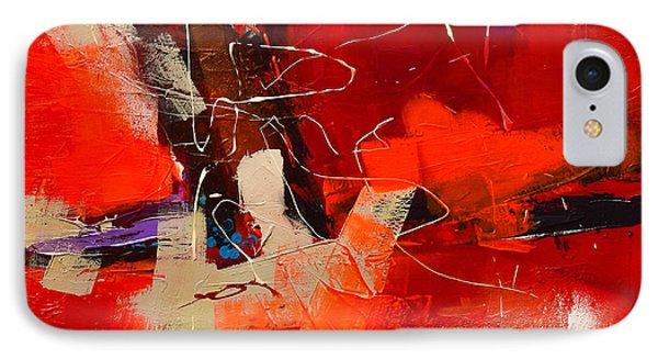 Intensity - Art By Elise Palmigiani IPhone Case by Elise Palmigiani