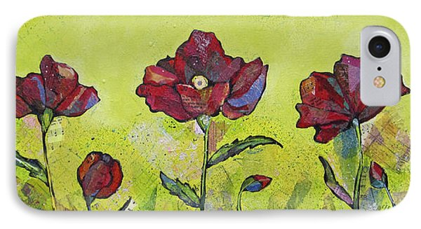 Intensity Of The Poppy I IPhone Case