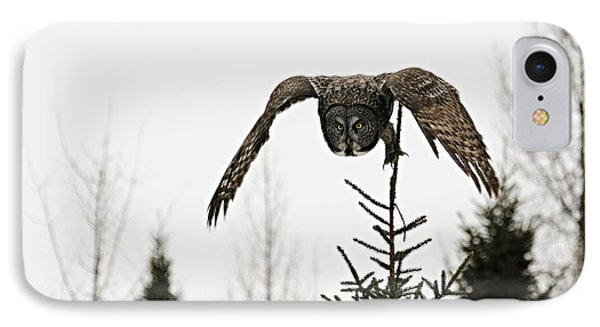 IPhone Case featuring the photograph Intent On His Prey by Larry Ricker