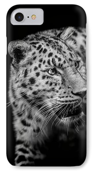 Intent IPhone Case by Paul Neville