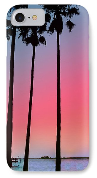 Intercoastal Sunset Phone Case by Bill Cannon