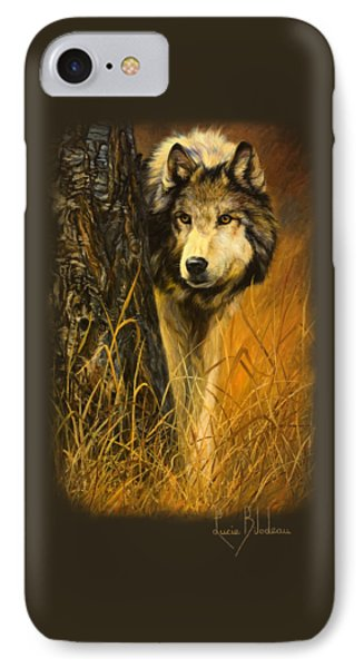 Interested IPhone Case by Lucie Bilodeau