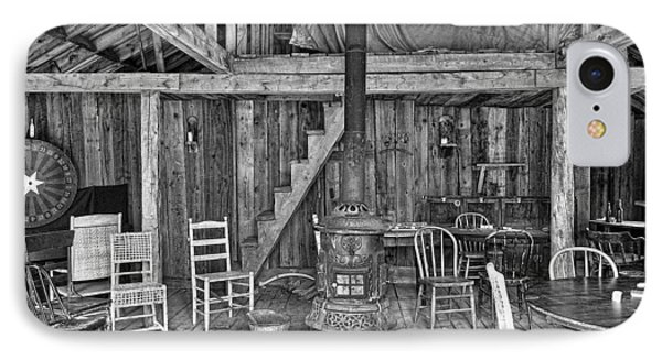 Interior Criterion Hall Saloon - Montana Territory Phone Case by Daniel Hagerman